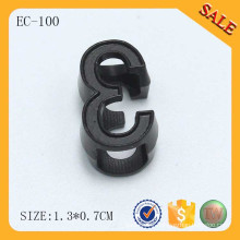 EC100 Garment accessories metal draw cord stopper for packbag