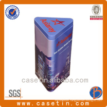 Triangular Shaped Gift Tin for Gift Packing Chinese