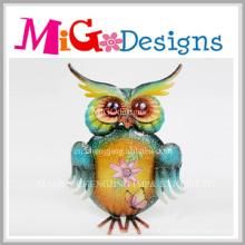 Metall und Glas Tier Wand Dekor mit Hand-Druck