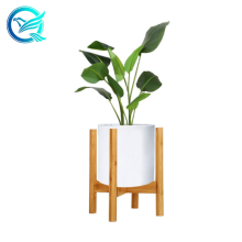 Qinge Bamboo Plant Holder Suit For 6''-8'' Flower Pot Good Selling Bamboo Solid Plant Stand