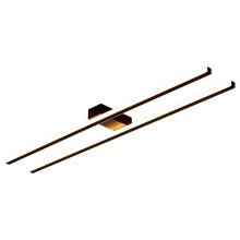 Lâmpadas de teto lineares para quartos