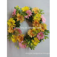 Sunflower/Twig/Leaf Front Door Wreath easter wreath garden wreath