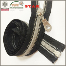 Nylon Zipper Silver Teeth Two Way O/E 5# (H-024)