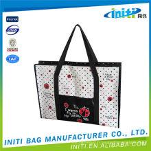 Logo personnalisé en nylon prix d'usine dossier en plastique pp folder folder zipper bag