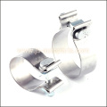 2 GENUINE TORCA ACCUSEAL ALUMINIZED STEEL NARROW BAND EXHAUST CLAMP