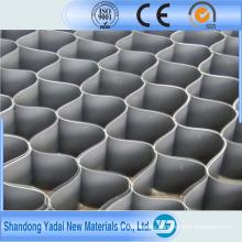 Высококачественного пластика HDPE георешетка используется для дорожного строительства