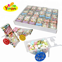 Cart Toy Packed With Yummy Milk Stone Chewy Candy