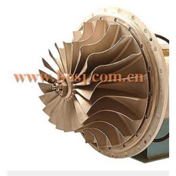 Высокопроизводительное турбо-компрессорное колесо Turbo Ktr110 6505-51-1410 Fit Turbo / Chra 6505-52-54140 6505-65-5020 Рабочее колесо рабочего колеса