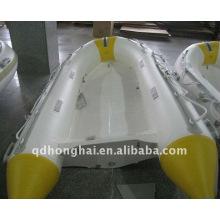 bateau rigide de fibre de verre ce RIB300 avec moteur 10hp