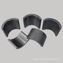Ímãs sinterizados de arco de ferrite para motor de limpeza