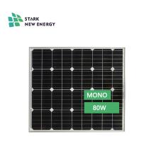 venta caliente mono mini panel solar 80w para el hogar