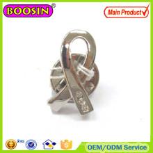 Popular Small Metal Ribbon Cheap Brooches #51026