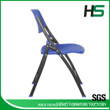 Comfortable plastic portable folding chair made in anji