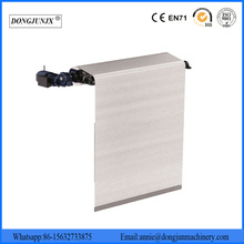 Flexible Aluminum Apron Covers Bellow Covers