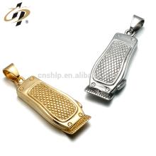 Atacado design personalizado de metal pingentes de prata de ouro e encantos