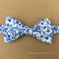 Handmade Cotton Bow Tie Print