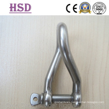 Stainless Steel Twisted Shackle
