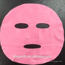Máscara de fibra súper multicolor / máscara facial