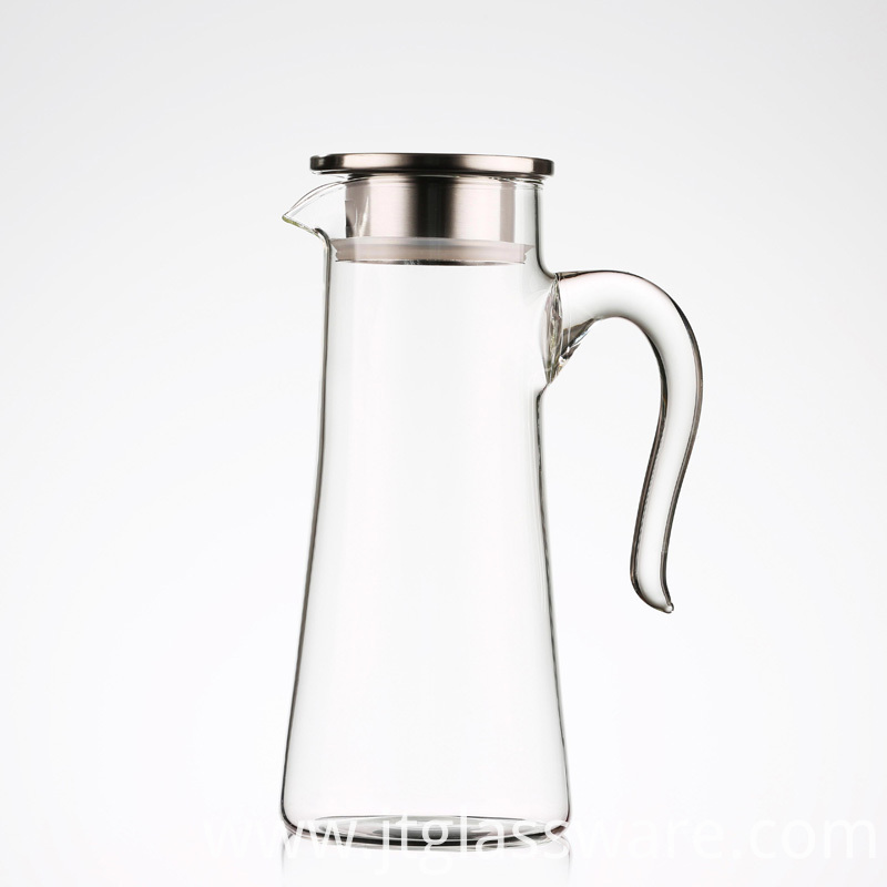 Glass Carafe Pitcher