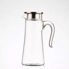 Heat Resistant Water Carafe with Handle
