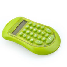 8 Digits Colorful Design Plastic Pocket Calculator