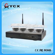 4CH Full hd 1,3 mégapixel 960P P2P Onvif nvr kit caméra ip sans fil caméra de surveillance pour intérieur et extérieur