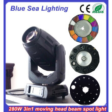 DMX 16/24ch beam spot wash 3in1 10r 280 beam sharpy