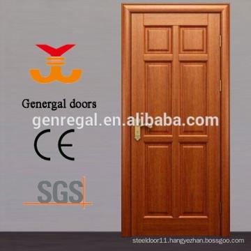 Classic 100% six panel solid wood door