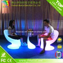 La table basse lumineuse illuminée par LED de la table LED d'éclairage de partie extérieure 16 a passé le CE, RoHS