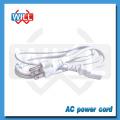 Заводской UL CUL 2pin белый шнур питания nispt-2