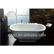 EAGO Large Size Manual Water Massage Bathtub AM128JDCLZ