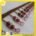 2014 Main Style New Acrylic Beaded Fringe,High Quality Curtain Accessory Home Textile