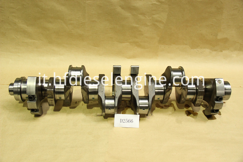 MAN D2566 crankshaft