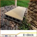 High quality durable long lifespan WPC wood plastic composite flooring for sale