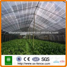 100% HDPE Сельскохозяйственная сетчатая сетка
