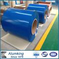 Bobine en résine en aluminium recouvert de couleur pour toiture