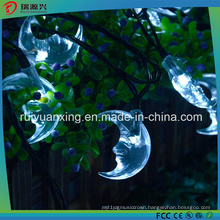 Moon Solar String Lights for Outdoor, Wedding, Festival (Multi-Color)