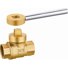 J09289 Brass Natural Gas Ball Valve, Female Thread, Lever Hand, Magnetic Lock