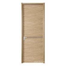 Contemporary Particle Board  Laminated Interior Passage Flush Doors