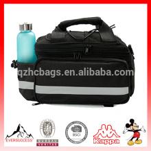 Outdoor New Bicycle Bike Rear Tail Rack Bag Bicycle Bag Pannier Pouch Trunk Storage Pack Travel Waterproof Black