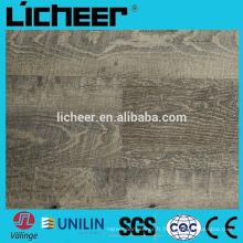 Unilin cliquez sur les planches de vinyle Planches avec des carreaux en fibre de verre / vinyle / plancher en relief de vinyle