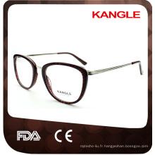 Cadres promotionnels de lunettes de Wenzhou avec des certificats de la CE