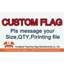 Drapeau personnalisé drapeau de porte drapeau de club drapeau d'élection sports