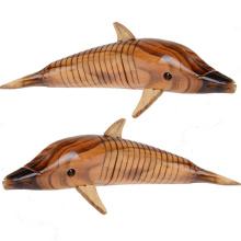 FQ marque éducatif petit enfant enfants dauphin bébé en bois jouet animal