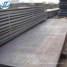 Plaque en acier allié laminé à chaud S355JR 20mm plaque d'acier de récipient à pression