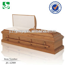 Best priced wooden handles cremation equipment casket