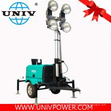 Mobile LED gerador diesel torre luz