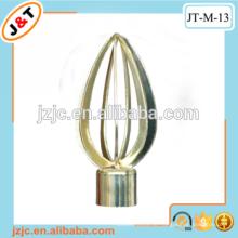 Hochwertige hohle flexible Duschvorhangstange mit Vorhang Finial