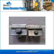 Steel Sliding Rail Clips for T45/A, T50/A, T75-3/B, T89/B, T127-2/B Elevator Guide Rail Clips