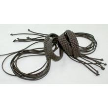 Леди одежды моды Ручная работа PU шнур плетеные ремни-KL0047